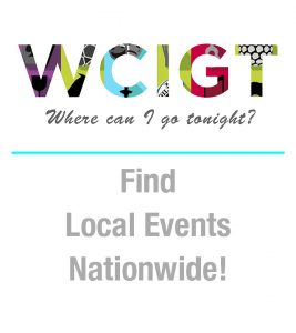 Where can I go tonight? Find local events, nationally.